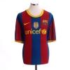 2010-11 Barcelona Home Shirt David Villa #7 XXL