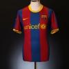 2010-11 Barcelona Home Shirt L