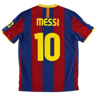 2010-11 Barcelona Home Shirt Messi #10 L