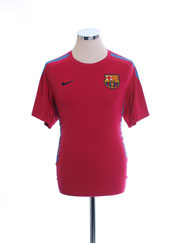 2010-11 Barcelona Nike Training Shirt *Mint* S