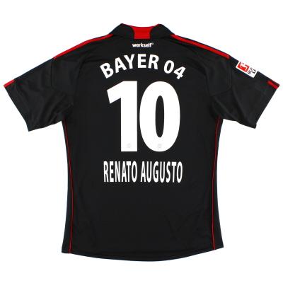 2010-11 Bayer Leverkusen Home Shirt Renato Augusto #10 L
