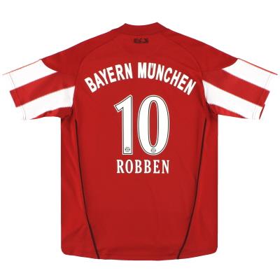 2010-11 Bayern Munich adidas Home Shirt Robben #10 XL.Boys