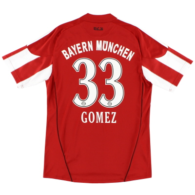 2010-11 Bayern Munich Home Shirt Gomez #33 S