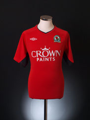 2010-11 Blackburn Away Shirt L