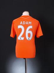 2010-11 Blackpool Home Shirt Adam #26 M