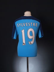2010-11 Blackpool Player Issue Third Shirt Sylvestre #19 L
