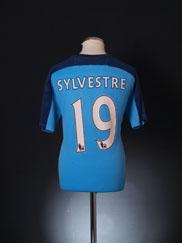 2010-11 Blackpool Player Issue Third Shirt Sylvestre #19 L