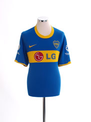 2010-11 Boca Juniors Home Shirt M