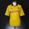 2010-11 Borussia Dortmund Home Shirt Hummels #15 L