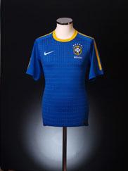 2010-11 Brazil Away Shirt L