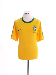 2010-11 Brazil Home Shirt XL