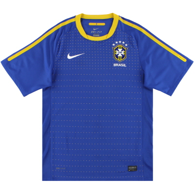 2010-11 Brazil Nike Away Shirt *Mint* XXL