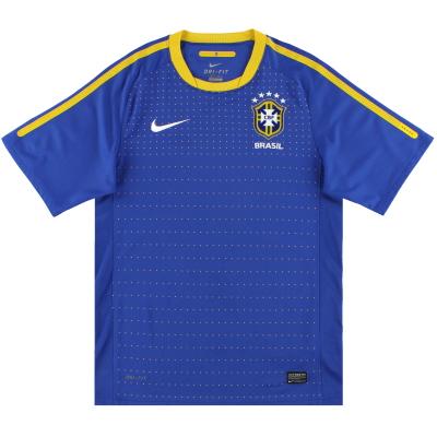 2010-11 Brazil Nike Away Shirt L