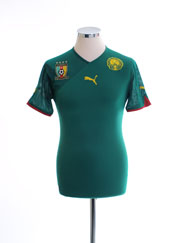 2010-11 Cameroon Home Shirt S