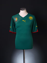 2010-11 Cameroon Home Shirt XL