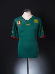 2010-11 Cameroon Home Shirt XL