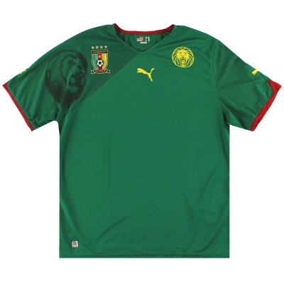 2010-11 Cameroon Puma Home Shirt XL
