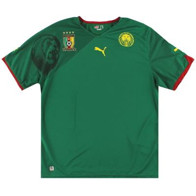 2010-11 Cameroon Puma Home Shirt S