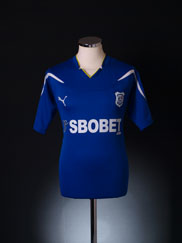 2010-11 Cardiff City Home Shirt M