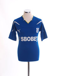 2010-11 Cardiff City Home Shirt S