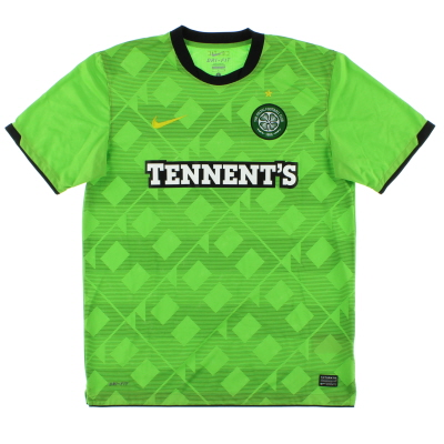 2010-11 Celtic Away Shirt L