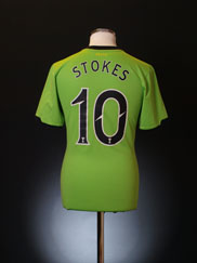 2010-11 Celtic Away Shirt Stokes #10 S