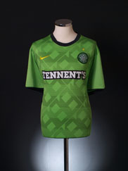 2010-11 Celtic Away Shirt XL