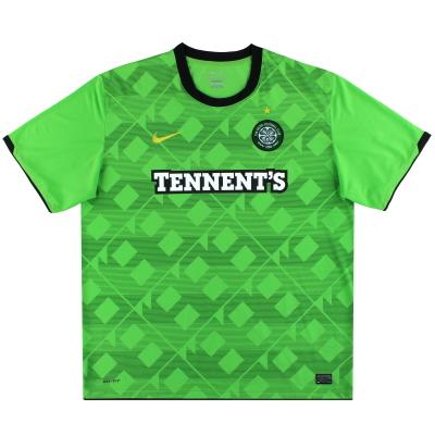 2010-11 Celtic Nike Away Shirt L