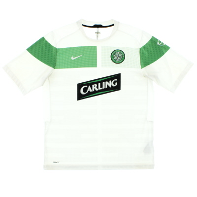 2010-11 Celtic Pre-Match Training Shirt L