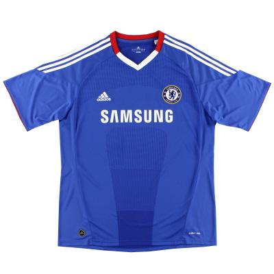 2010-11 Chelsea adidas Home Shirt M