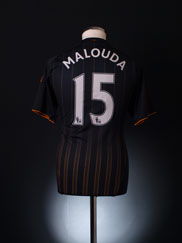 2010-11 Chelsea Away Shirt Malouda #15 S