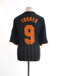 2010-11 Chelsea Champions League Away Shirt Torres #9 XL