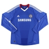 2010-11 Chelsea Home Shirt Drogba #11 L/S XL