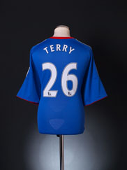 2010-11 Chelsea Home Shirt Terry #26 XL