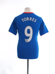 2010-11 Chelsea Home Shirt Torres #9 Y