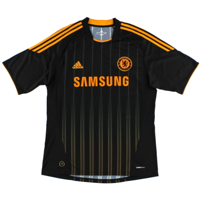2010-11 Chelsea Player Issue TechFit Away Shirt *Mint*