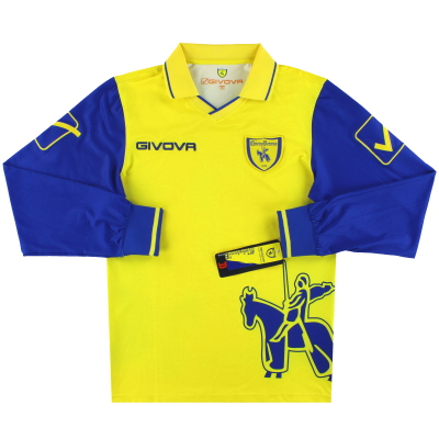 2010-11 Chievo Verona Givova Home Shirt L/S *BNIB* M