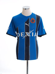 2010-11 Club Brugge Home Shirt M