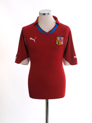 2010-11 Czech Republic Home Shirt M