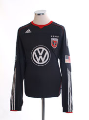 2010-11 DC United 'Formotion' Home Shirt L/S *Mint* XL