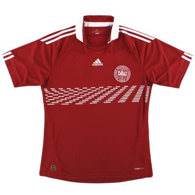 2010-11 Denmark adidas Home Shirt XL