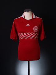 2010-11 Denmark Home Shirt M