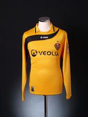 2010-11 Dynamo Dresden Home Shirt L/S M