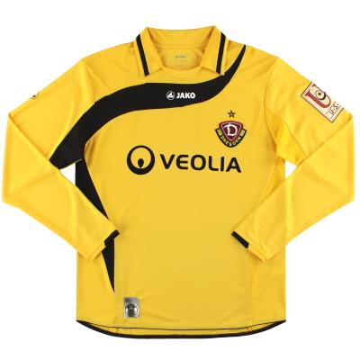 2010-11 Dynamo Dresden Home Shirt *Mint* L/S M