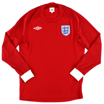 2010-11 England Away Shirt #10 L/S M