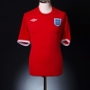 2010-11 England Away Shirt Gerrard #4 *Mint* XXL