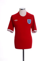 2010-11 England Away Shirt M