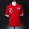 2010-11 England Away Shirt Rooney #10 M