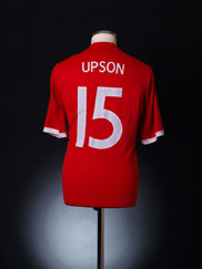 2010-11 England Away Shirt Upson #15 L