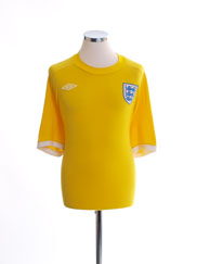 2010-11 England Goalkeeper Shirt XXL